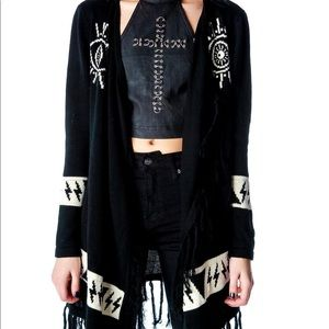 UNIF cardigan (psychic poncho) excellent condition